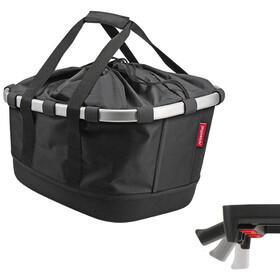 KlickFix Reisenthel GT Bike Basket with UniKlip, black